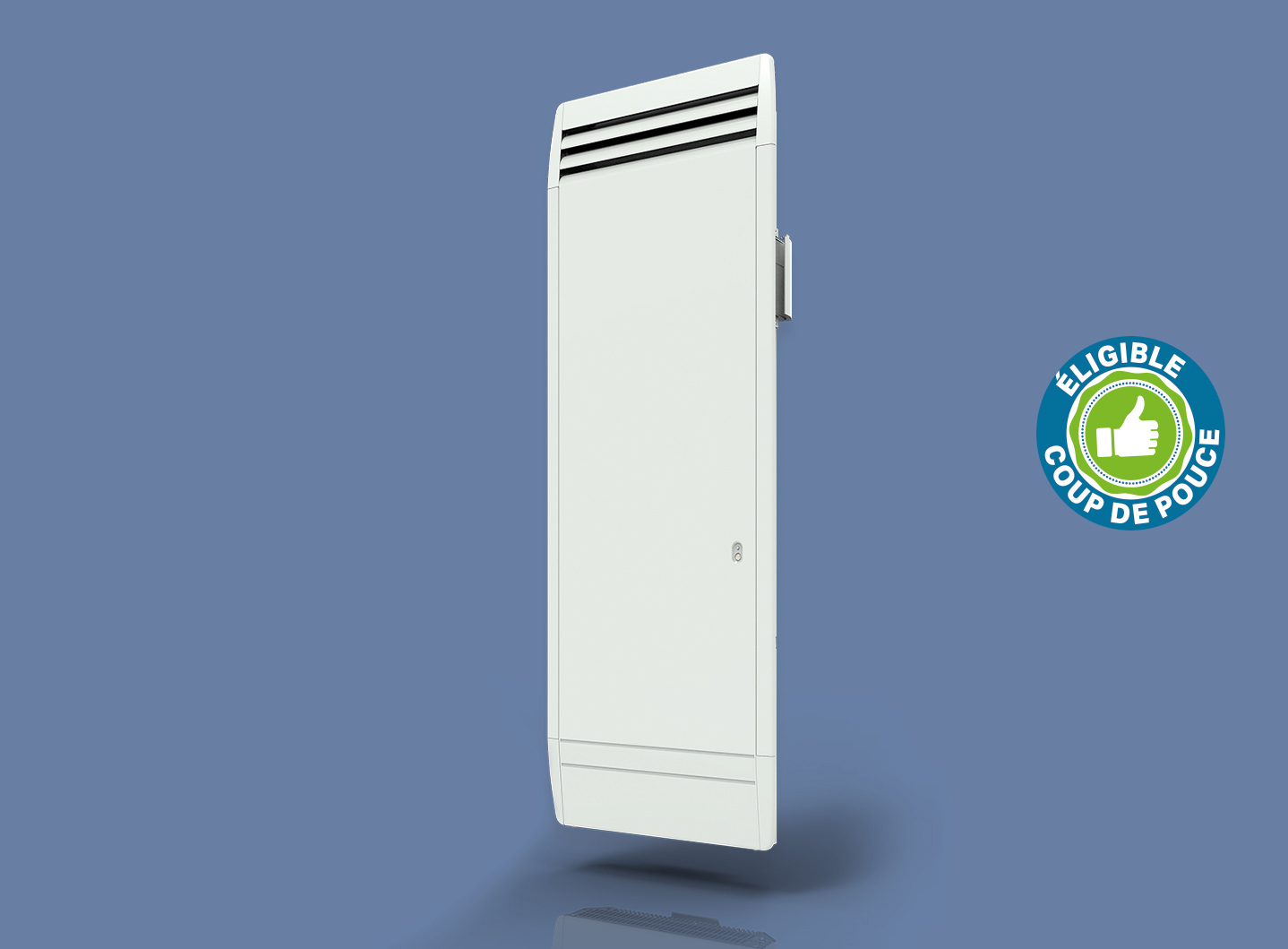 Radiateur Actifonte Smart ECOcontrol Vertical Blanc
