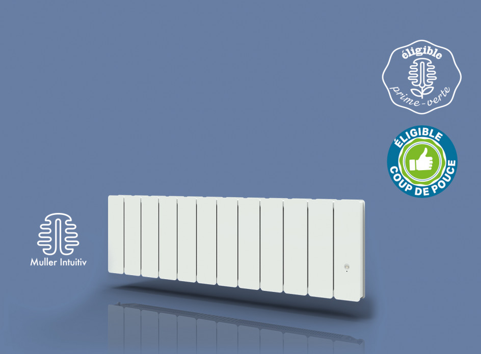 Radiateur Bellagio Smart ECOcontrol Plinthe Blanc