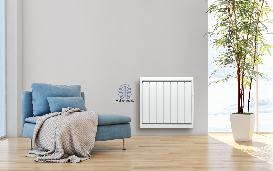 Radiateur Calidou Smart ECOcontrol Horizontal Blanc