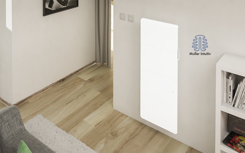 Radiateur Axiom Smart ECOcontrol Vertical Blanc
