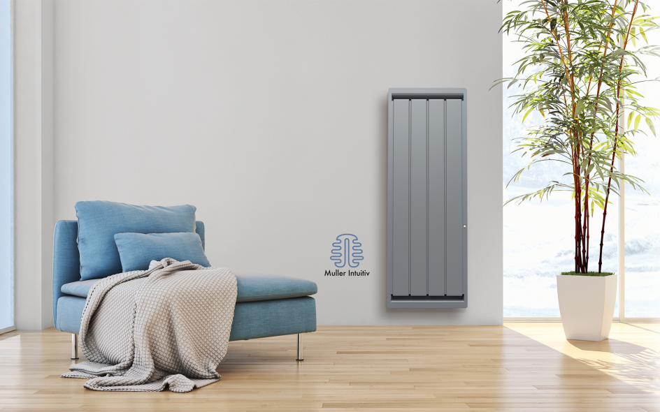 Radiateur Calidou Smart ECOcontrol Vertical Anthracite