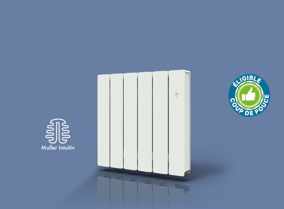 Radiateur Arial Smart ECOcontrol Horizontal Blanc