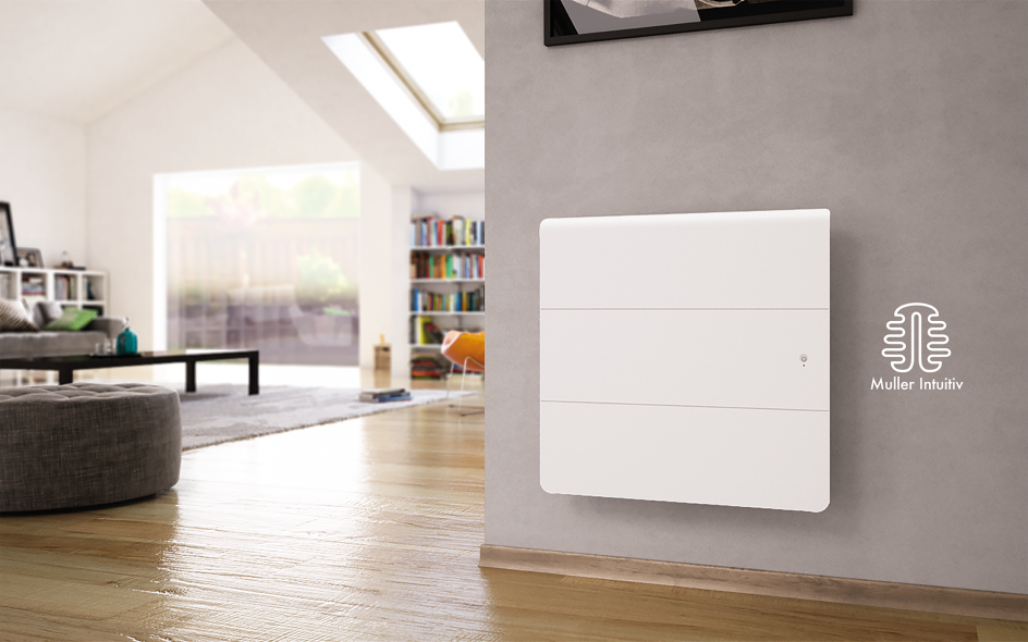 Radiateur Axiom Smart ECOcontrol Horizontal Blanc