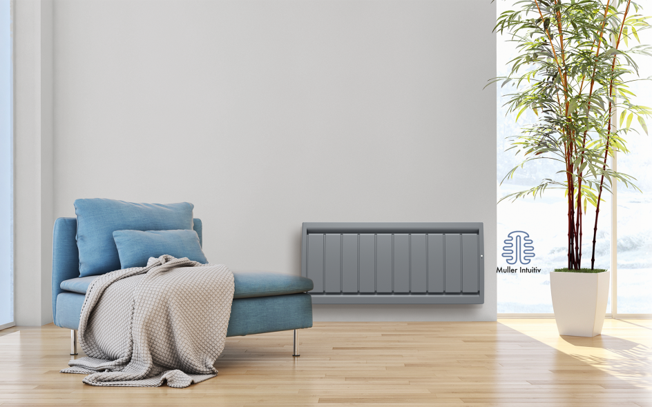 Radiateur Calidou Smart ECOcontrol Bas Anthracite