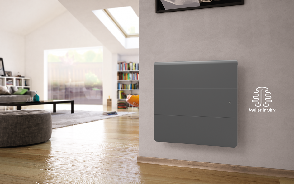 Radiateur Axiom Smart ECOcontrol Horizontal Anthracite