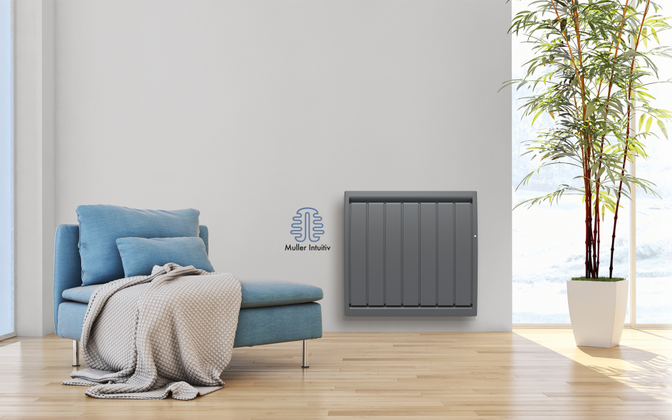 Radiateur Calidou Smart ECOcontrol Horizontal Anthracite