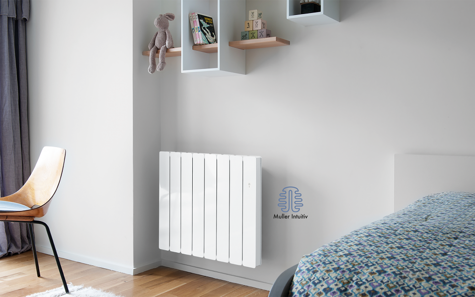 Radiateur Bellagio Smart ECOcontrol Horizontal Blanc