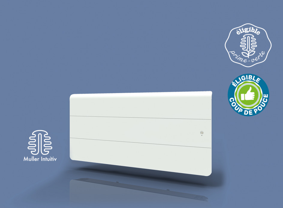 Radiateur Axiom Smart ECOcontrol Bas Blanc