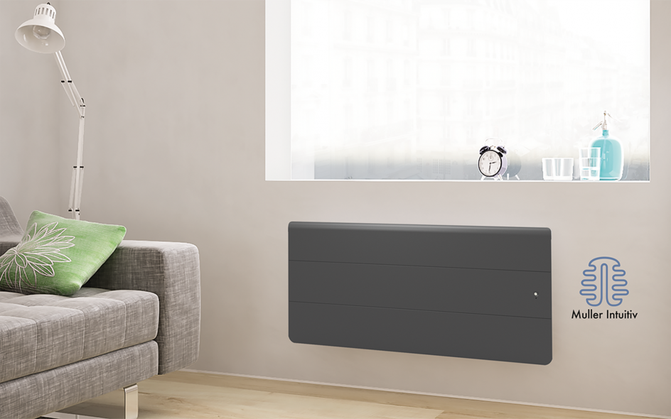 Radiateur Axiom Smart ECOcontrol Bas Anthracite
